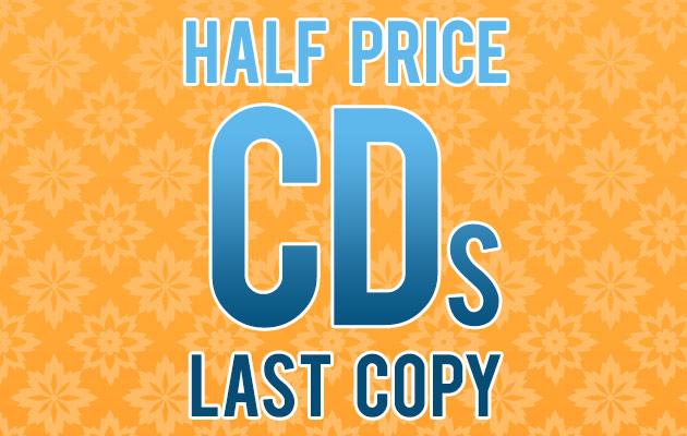Half Price CDs - Last Copy